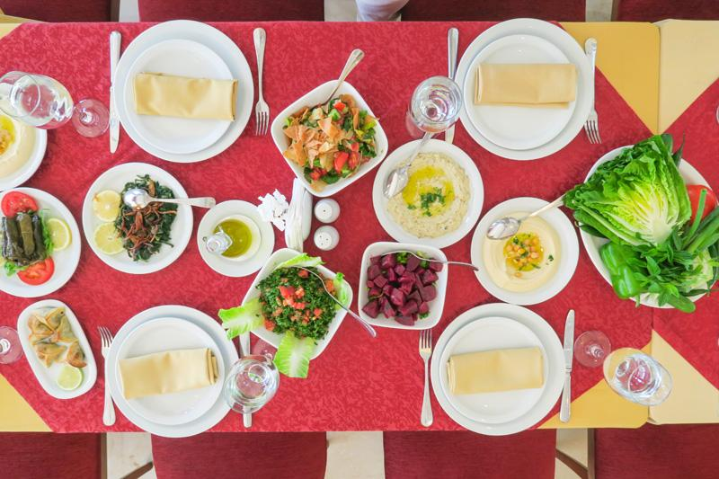 Burj El Hamam Restaurant Beirut