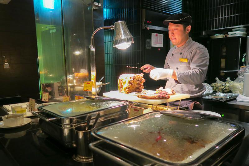 Chef's Live Kitchen Review: Tokyo Dinner Buffet with a View Asia Blog Food Japan