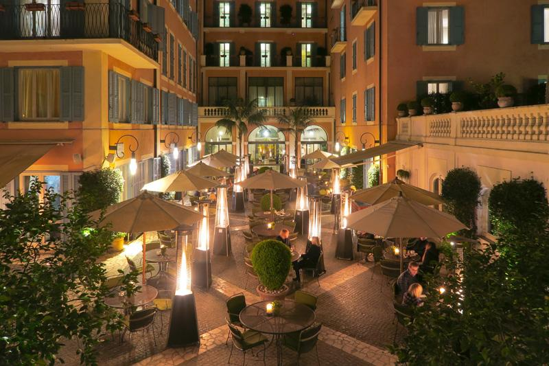 Le Jardin de Russie Restaurant Review: An Oasis in Rome Blog Europe Food Italy Rome