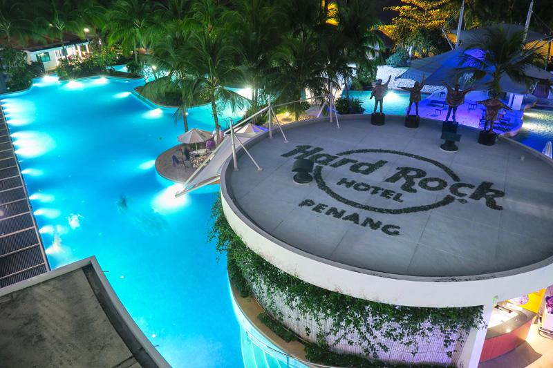 Hard rock hotel review a fun getaway in penang malaysia - Hard rock hotel penang swimming pool ...