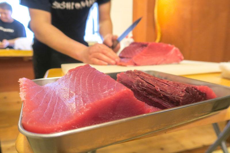 Toyosu Market Tour and Sushi Class: Sushi Mafia Tokyo Review Asia Blog Food Japan Tokyo Tours