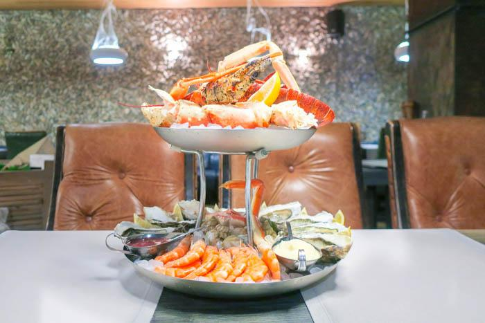 RYBALOVE Fish Restaurant Review: Top Seafood in Kyiv Blog Europe Food Kiev Ukraine