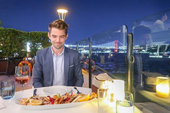 Wine and Dine Like Royalty: Kempinski's Bosphorus Grill Review Asia Blog Istanbul Turkey