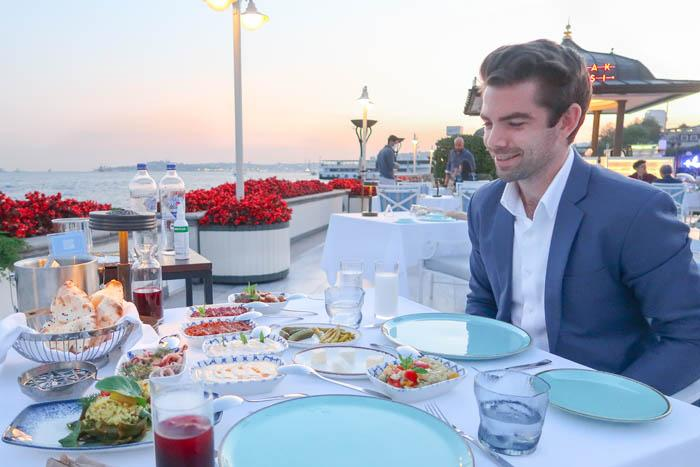 Turkish BBQ on the Bosphorus: Ocakbaşı Restaurant Review Asia Blog Food Istanbul Turkey